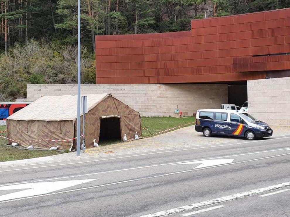 El único paso a Francia que seguirá abierto por el Alto Aragón será el túnel de Somport