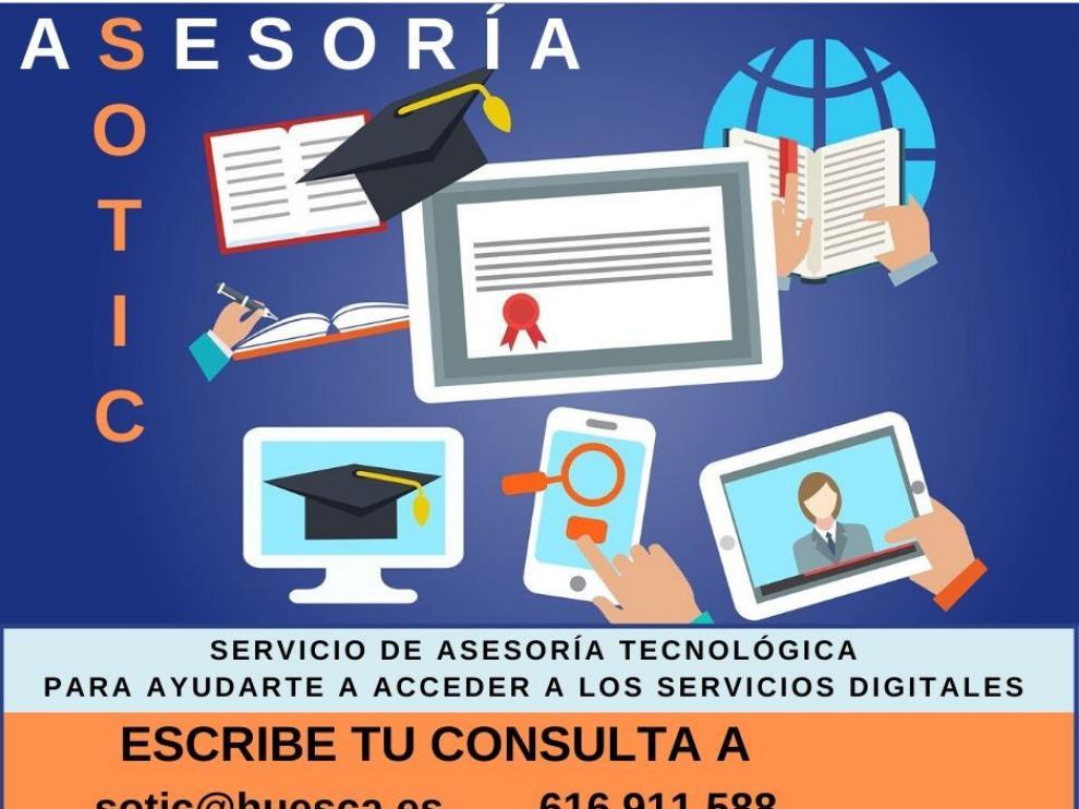Las Bibliotecas Municipales de Huesca lanzan un servicio de asesoría tecnológica