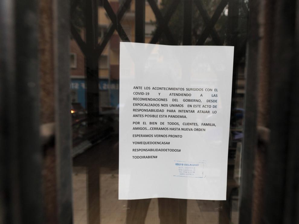 Comienzan este lunes los plazos para licitar las ayudas por la crisis generada por el coronavirus al Ayuntamiento de Huesca