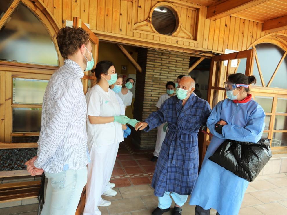 Dos nuevos afectados por coronavirus reciben el alta en la residencia La Abubilla de Yéqueda