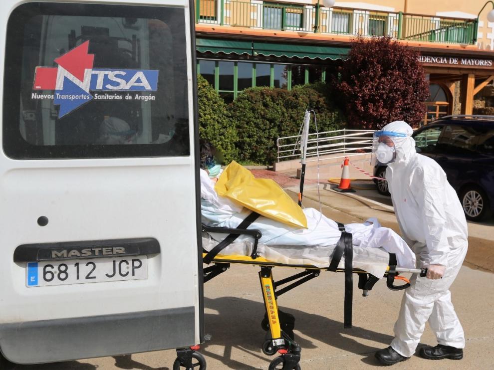 Se elevan a 77 las víctimas mortales del coronavirus en la provincia de Huesca