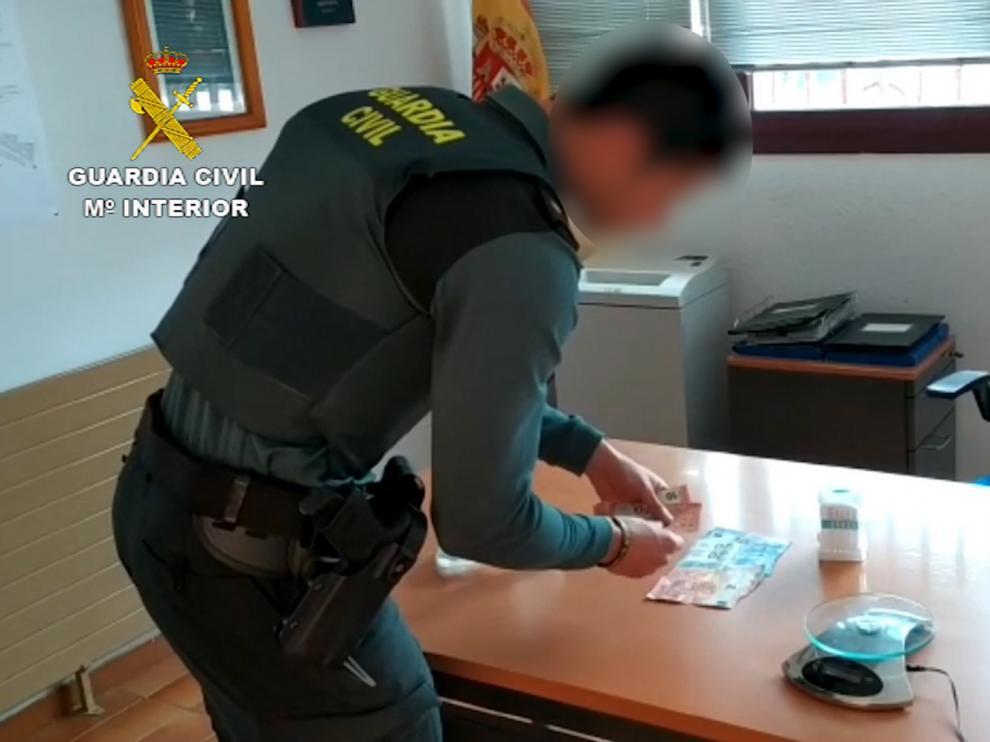 Un detenido en Monzón por tráfico de drogas e incumplir el confinamiento