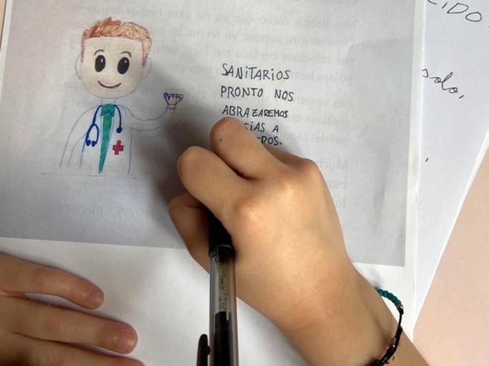 Los escolares de Sabiñánigo entre deberes y divertidos retos