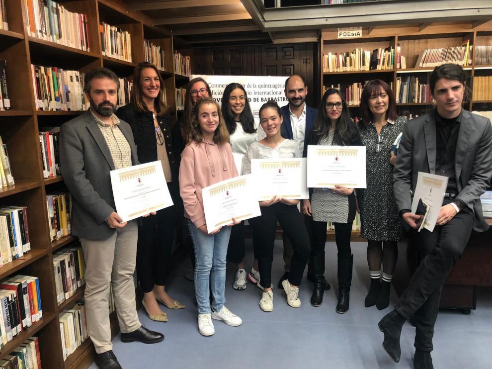 El fallo de los Premios Literarios de Barbastro se pospone hasta el 26 de junio
