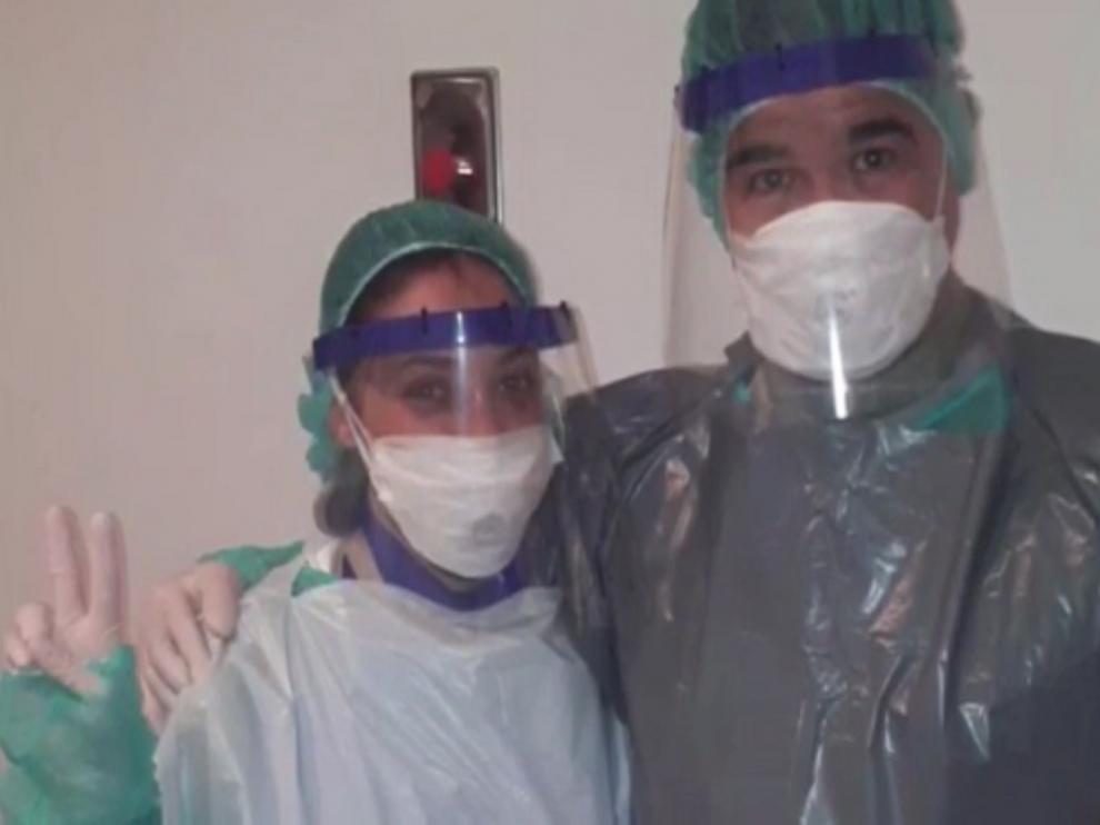 Los profesionales del Servicio de Radiología del Hospital San Jorge dan las gracias y ponen en valor su trabajo