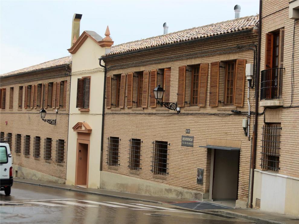 Detectan un tercer brote de coronavirus en Huesca, en la residencia La Merced