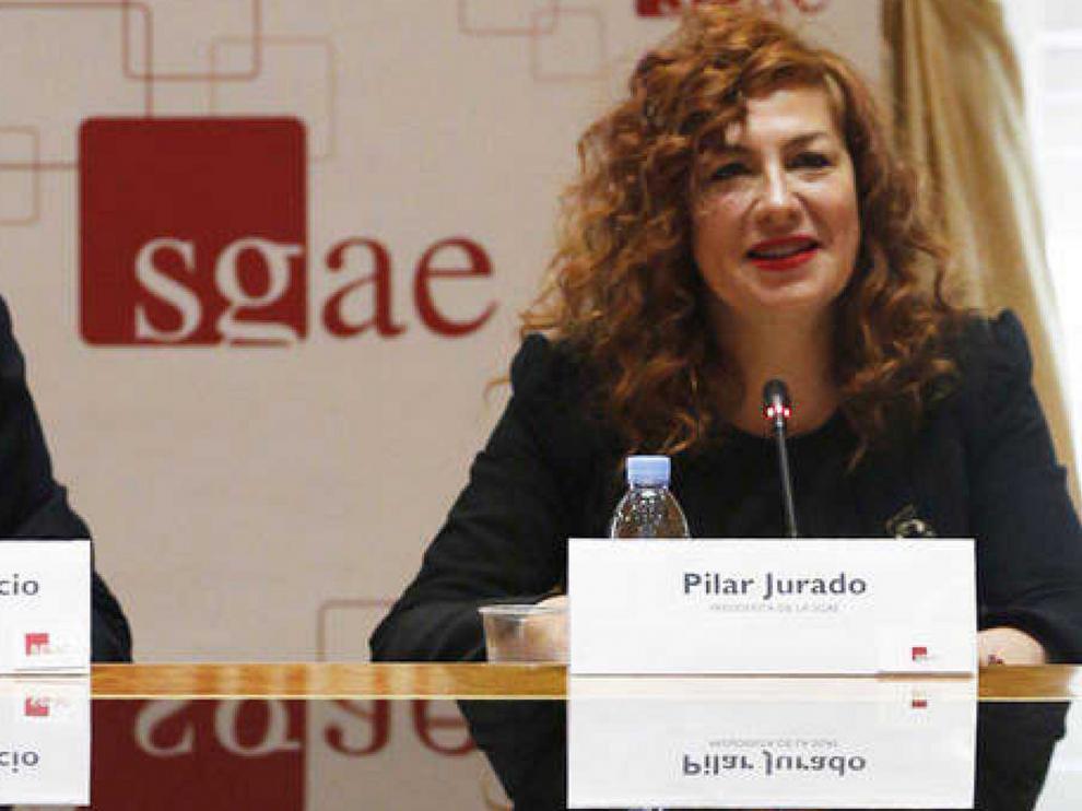 La SGAE destituye a la soprano Pilar Jurado como presidenta