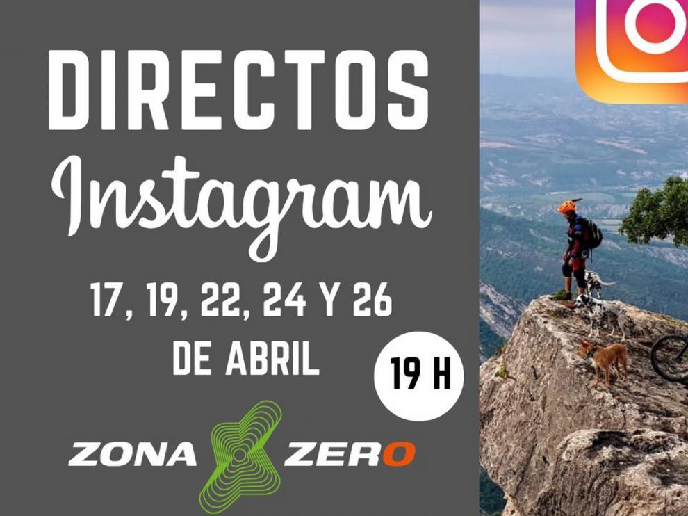 Zona Zero se muestra en Instagram con un fin solidario