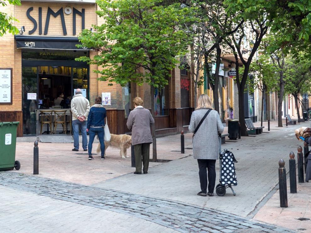 Un estudio sobre mapas de Zaragoza revela la incidencia del coronavirus en zonas de hacinamiento
