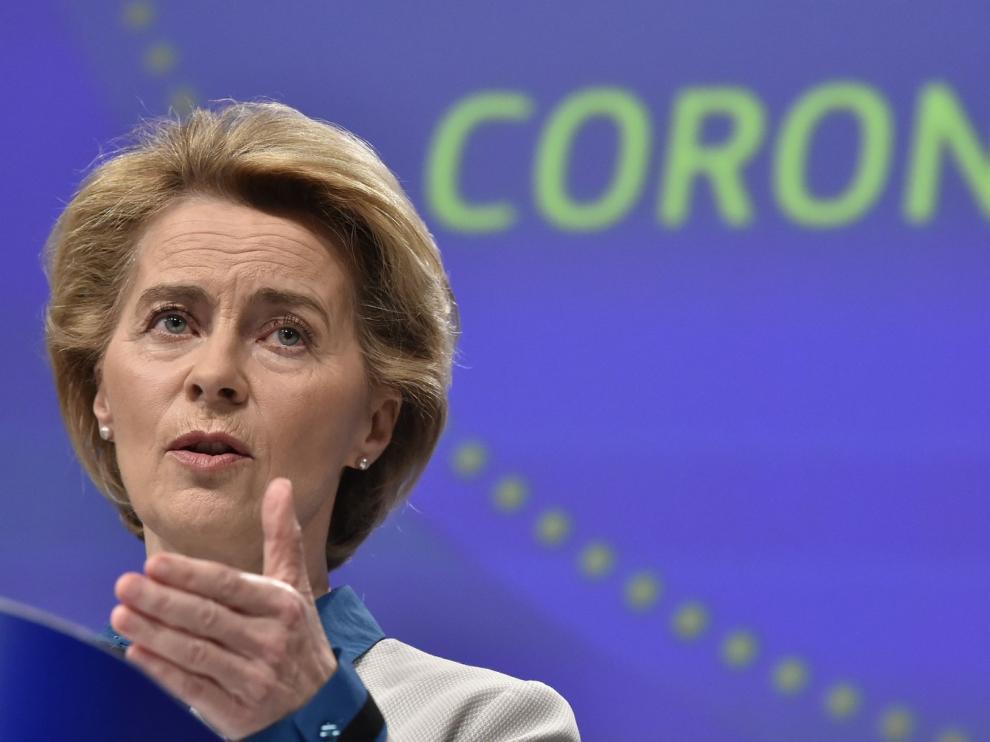 Von der Leyen dice que la UE necesita un Plan Marshall de inmediato