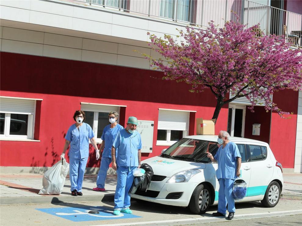 Concesionarios de Huesca ofrecen coches para ayudar a los sanitarios