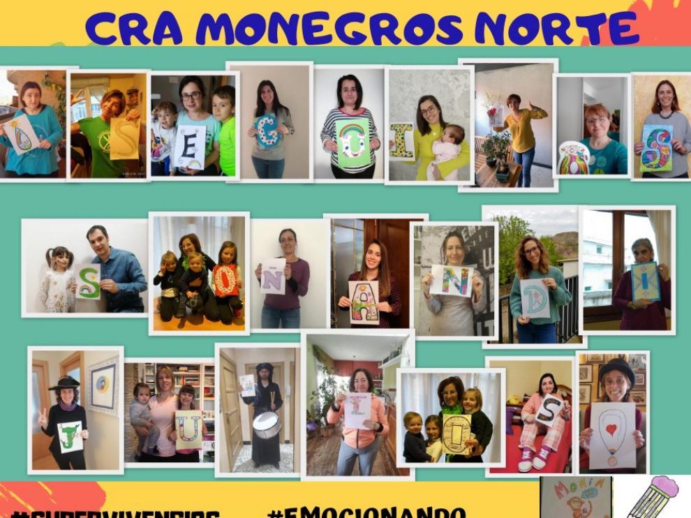 El CRA Monegros Norte anima a los alumnos a seguir soñando juntos
