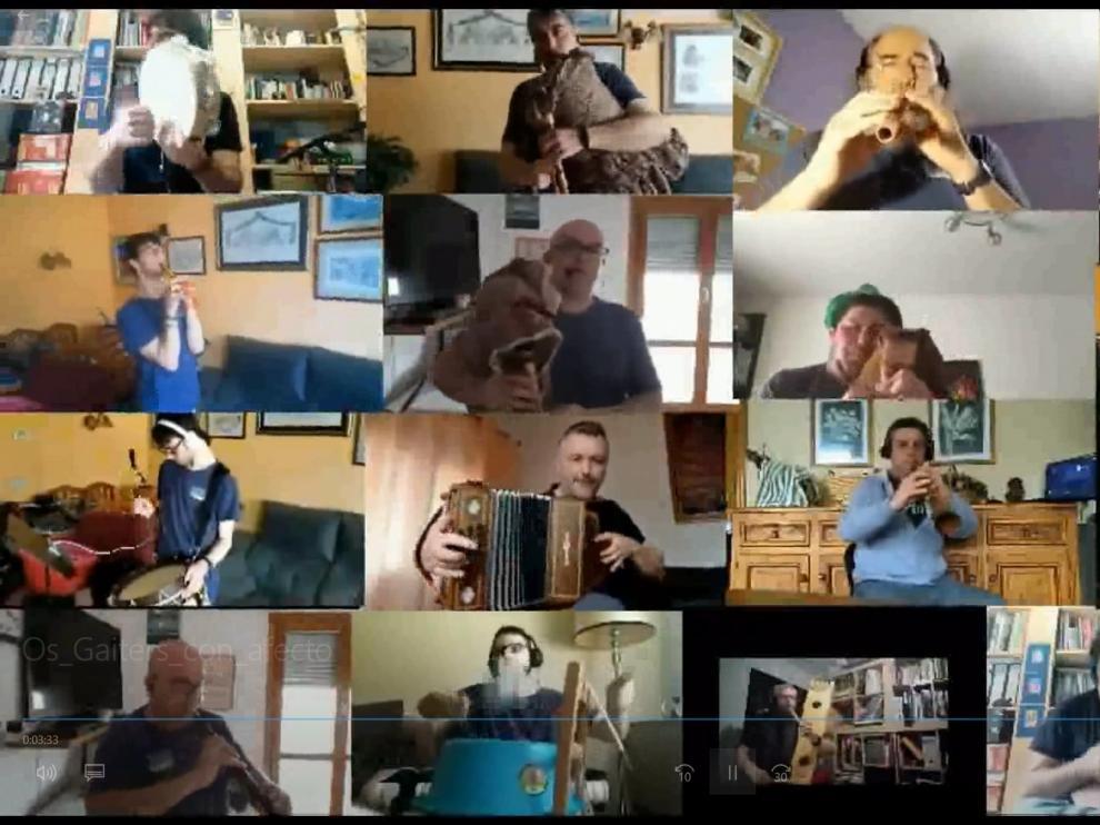 Os Gaiters de Tierra Plana transmiten un deseo de felicidad a través de una melodía francesa