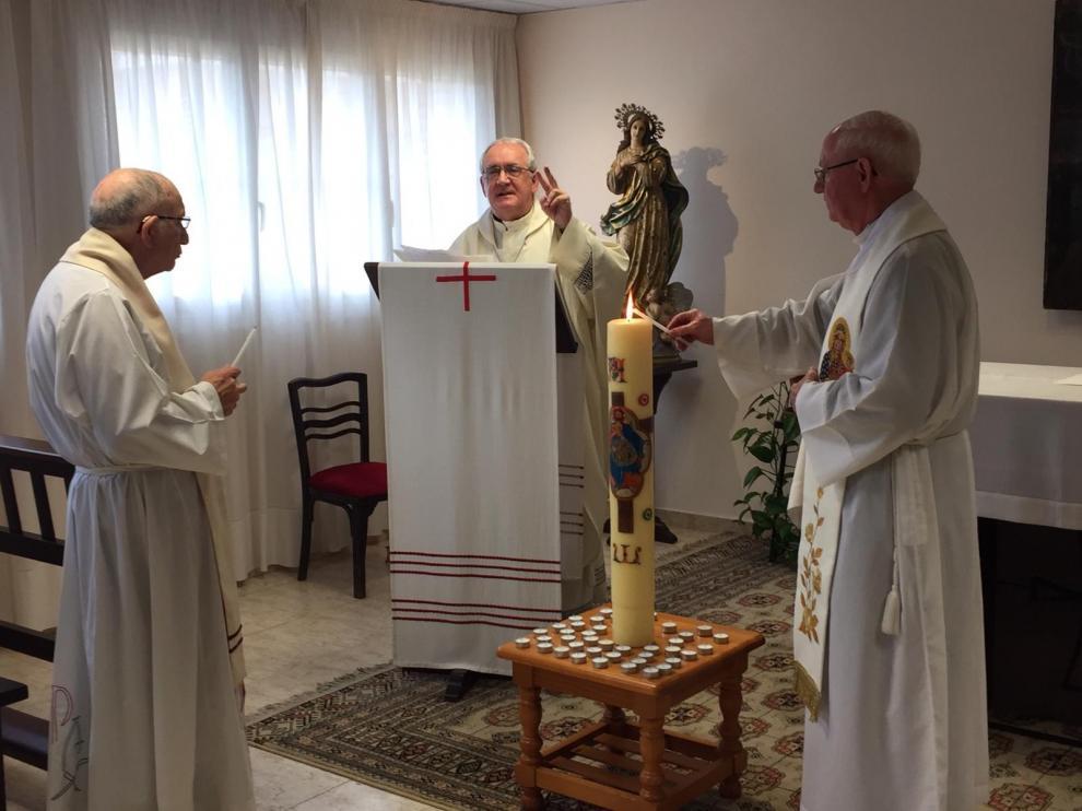 Ofrecen la misa del domingo en Barbastro por las víctimas del coronavirus