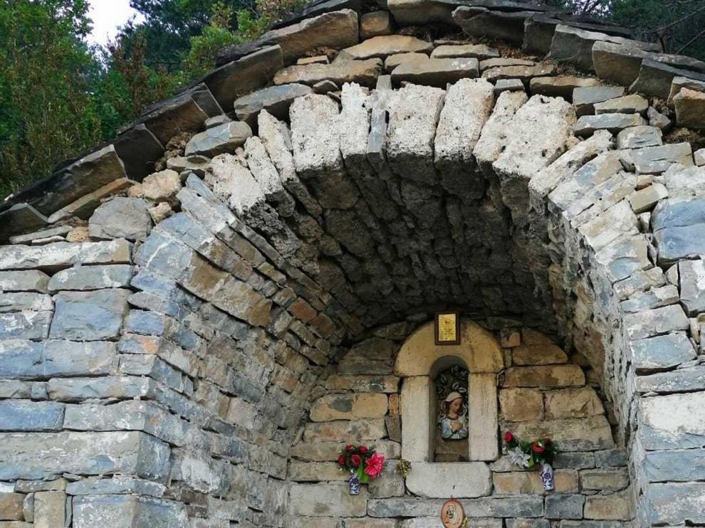 La capilla de la Virgen Chica, un alto en el camino