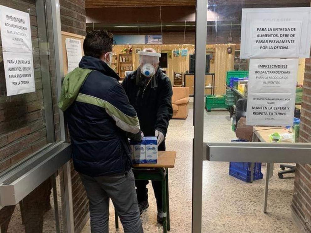 Cáritas atiende a 745 personas entre Barbastro y Monzón durante el estado de alarma por el coronavirus