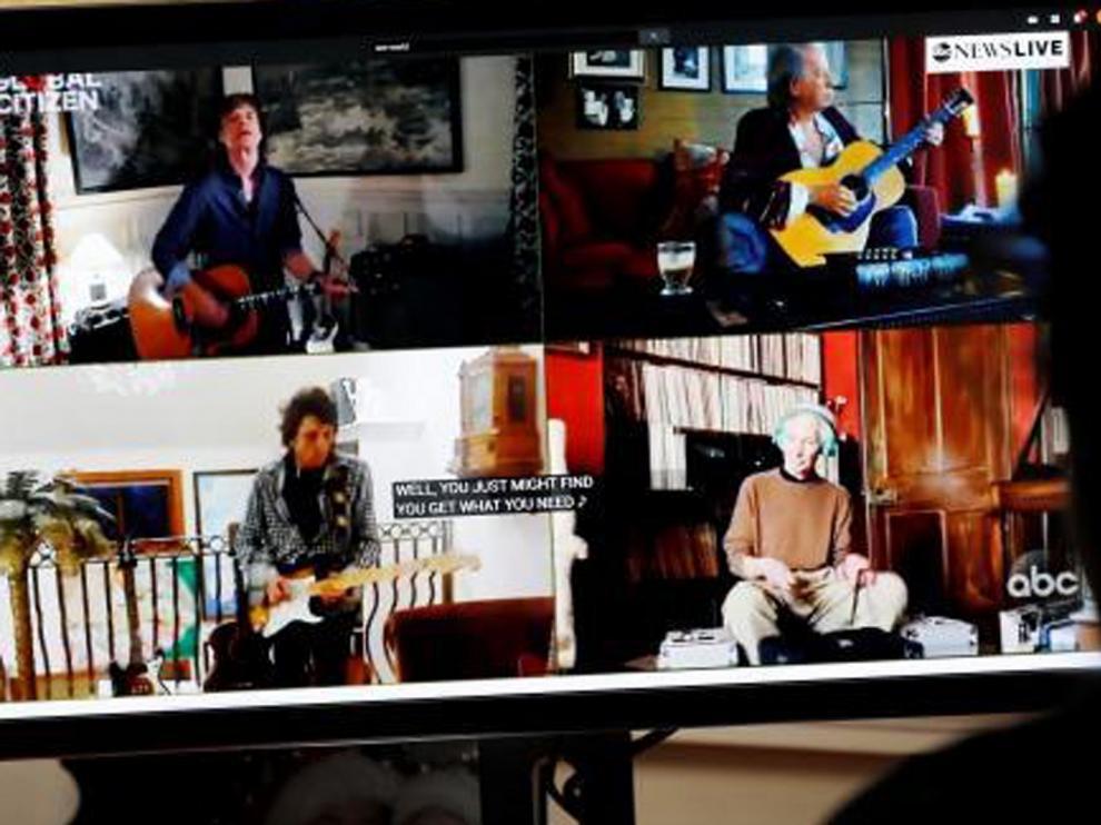 Más de un centenar de artistas ofrecen un gran concierto desde casa