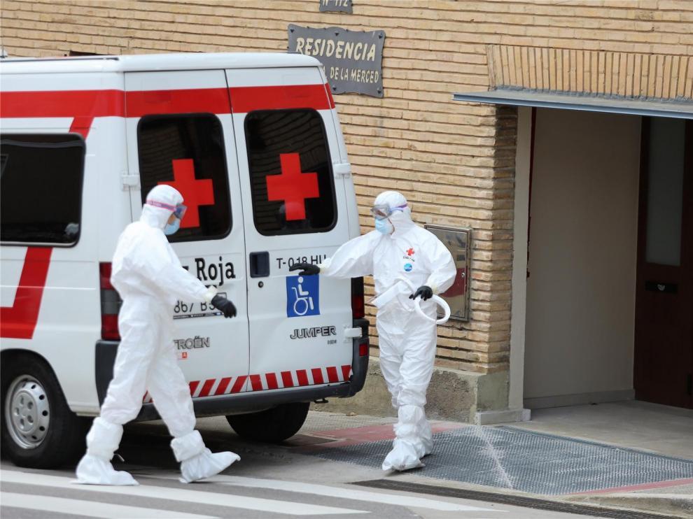 El número de contagiados en el Alto Aragón llega a los 600 tras aumentar en 16 casos en el último día
