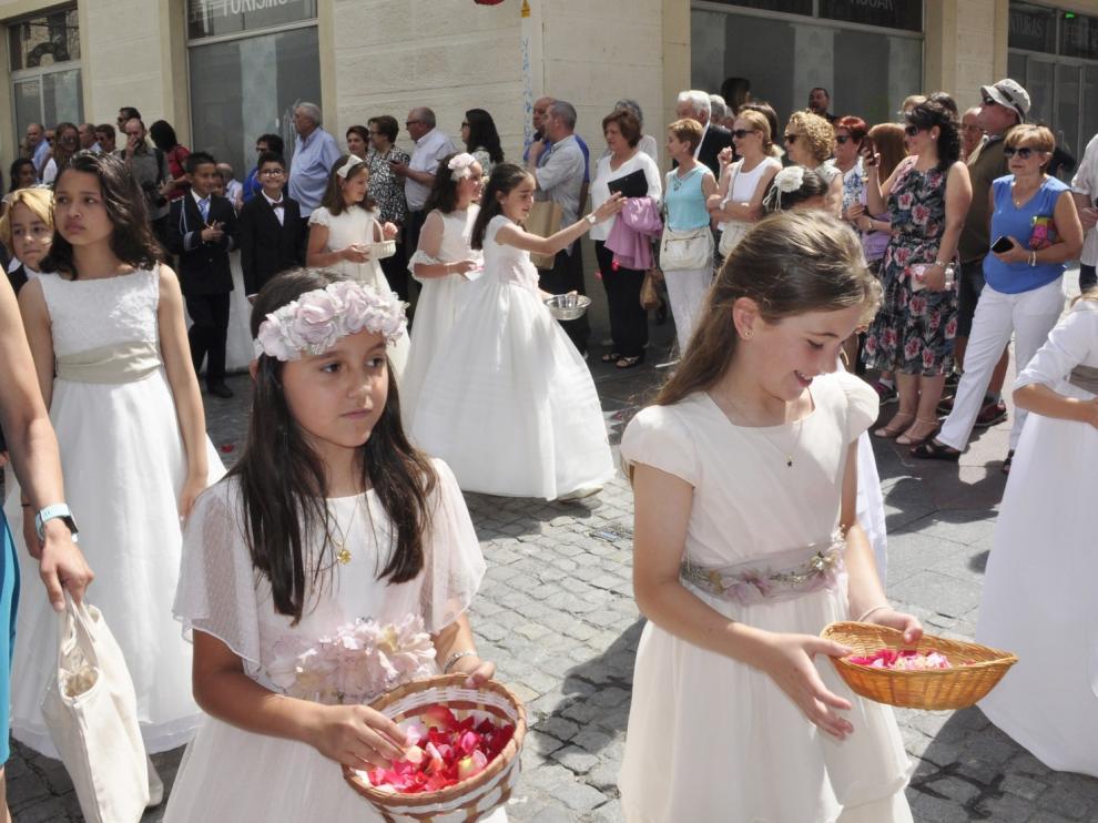 Jaca aplaza las primeras comuniones al otoño