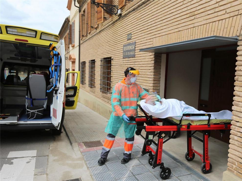 Fallece un ingresado en el Hospital San Jorge y la cifra total de víctimas en la provincia de Huesca se eleva a 87