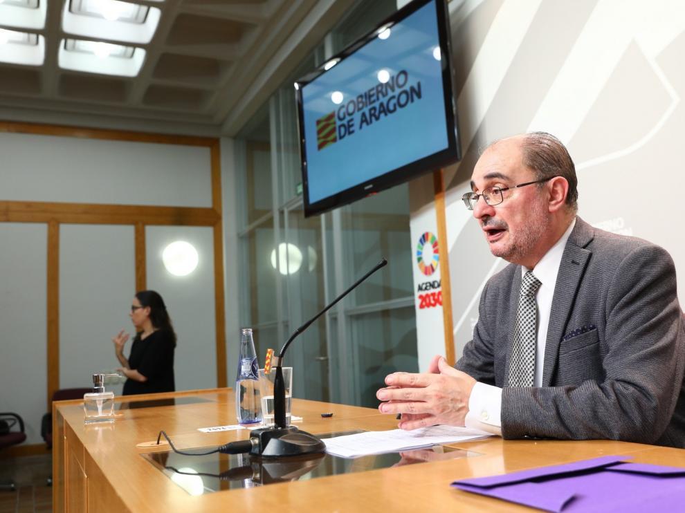 Lambán afirma que nunca ha visto su relación con el Gobierno como un desafío