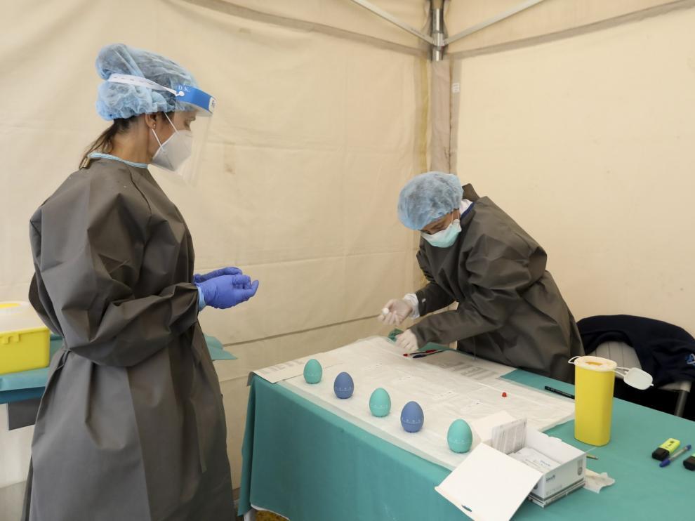 El coronavirus solo deja un nuevo contagiado más en la provincia de Huesca este lunes