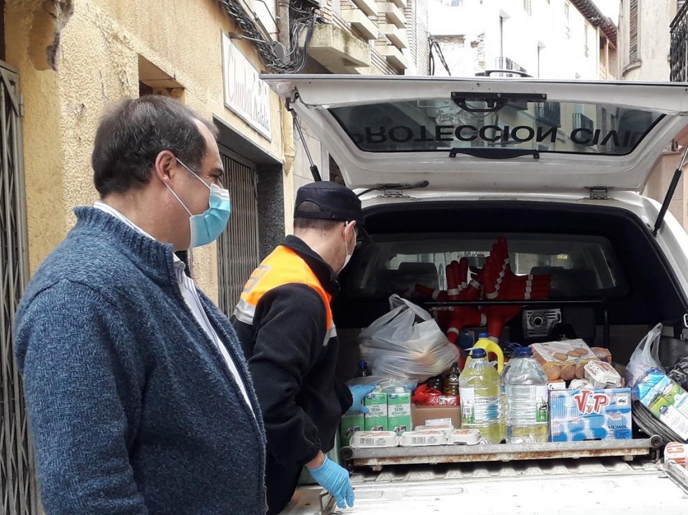 El Ayuntamiento de Monzón sigue apoyando a Cáritas para ayudar a los más desfavorecidos