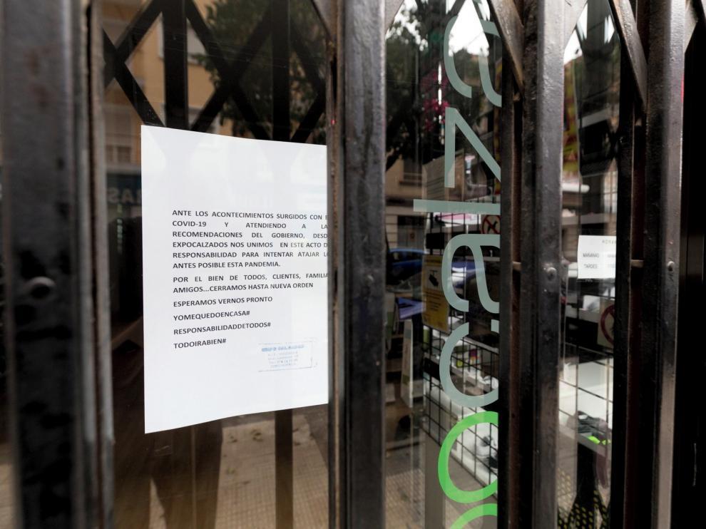 Unos 900 autónomos piden la ayuda por el cierre de sus negocios
