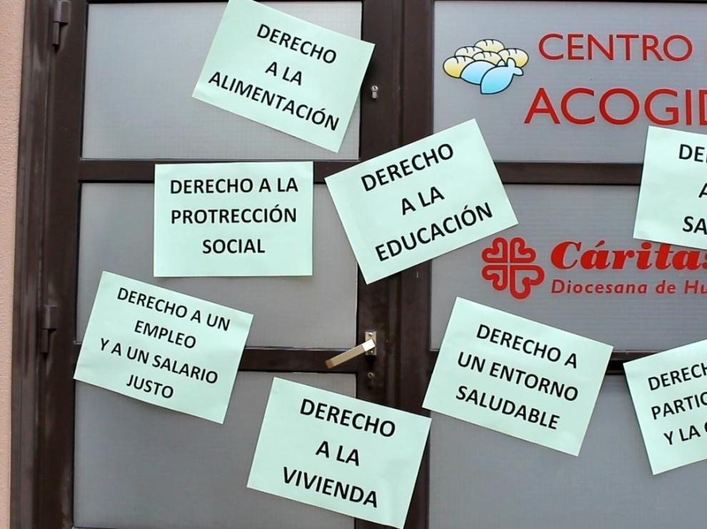 Cáritas de Huesca mantiene vía telemática el acompañamiento