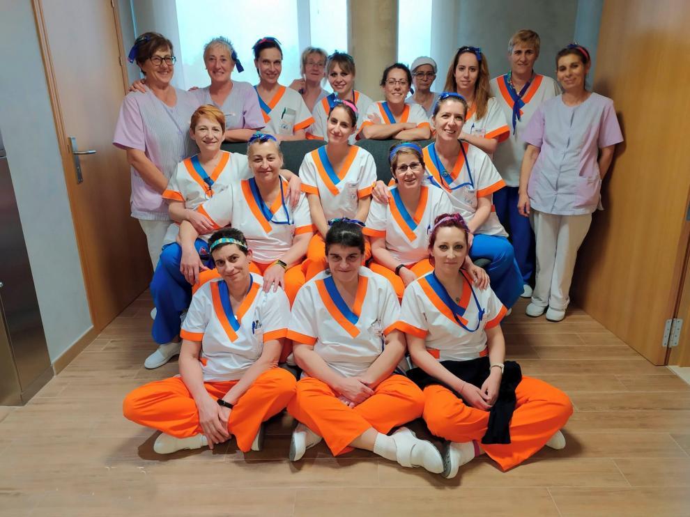 Fin a un encierro de 30 días en la residencia Monegros de Grañén con los mayores