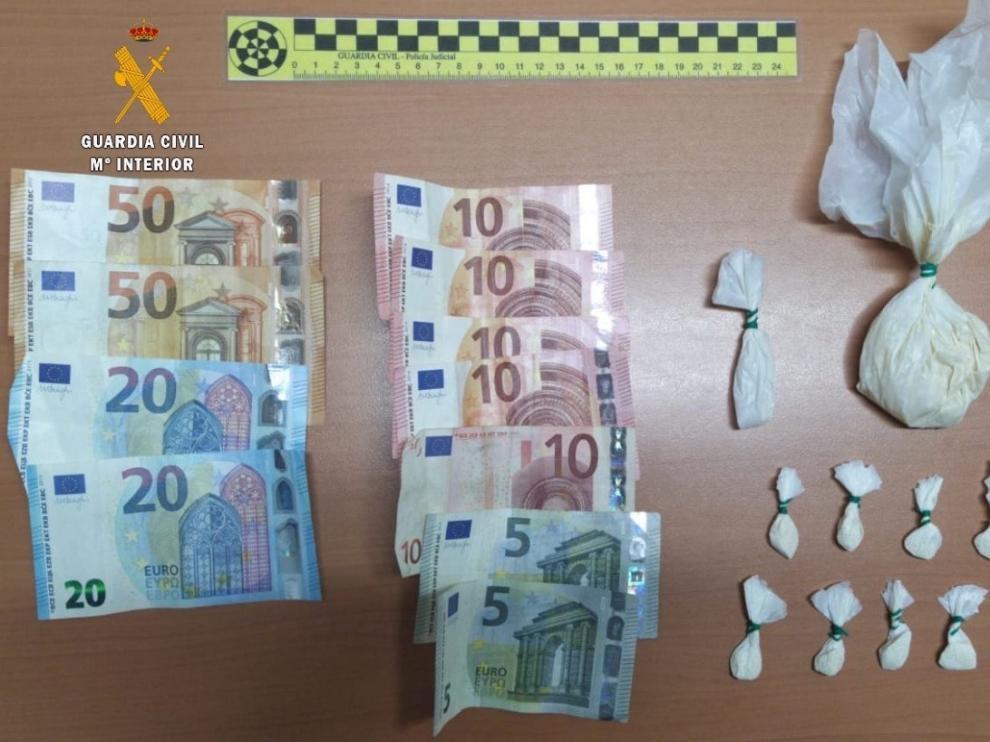 Un detenido en Barbastro por tráfico de drogas