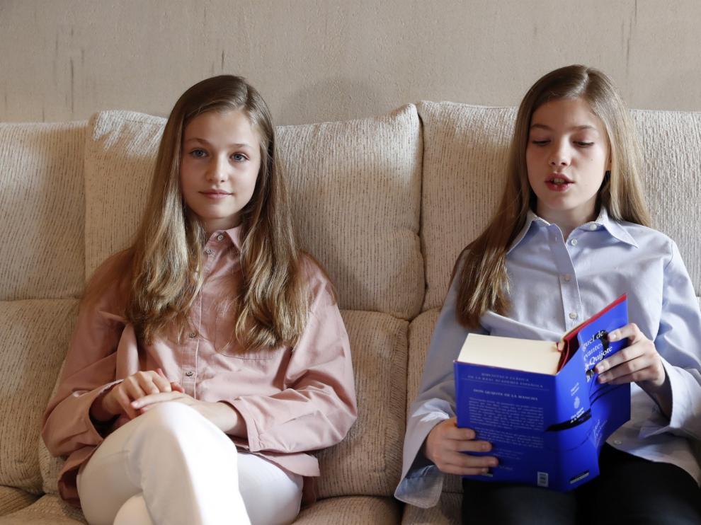 Las hijas de los reyes ponen voz al Quijote en su lectura virtual