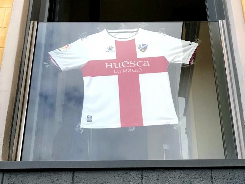El Huesca vive un San Jorge emotivo y especial