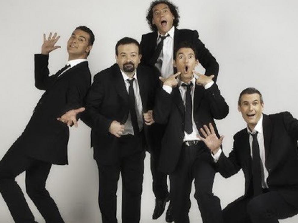 """El grupo b vocal lanza una campaña musical con el lema """"Ponte la máscara"""""""