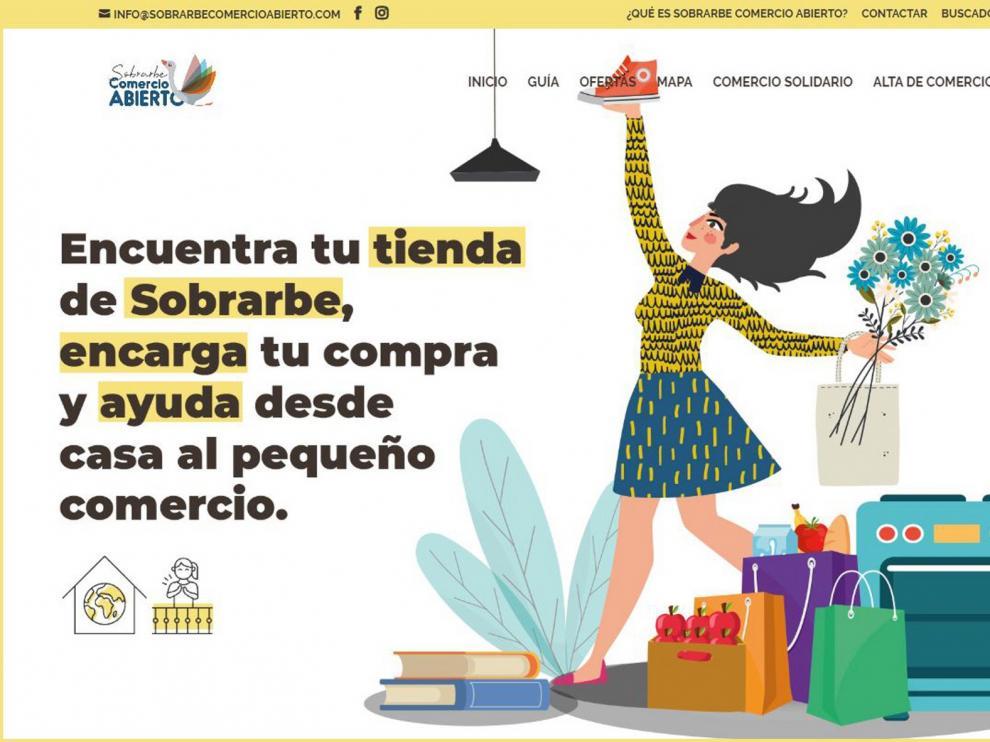 """Lanzan una plataforma """"online"""" para los comercios del Sobrarbe"""