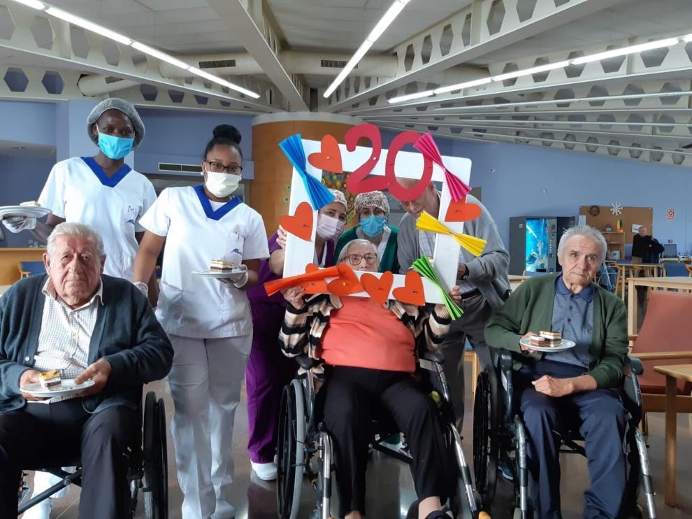 """La Residencia Municipal de Mayores """"Las Huertas"""" de Barbastro cumple dos décadas"""