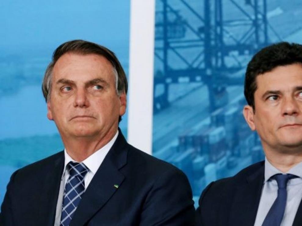 Bolsonaro y el recién dimitido ministro Moro se enzarzan en duras acusaciones