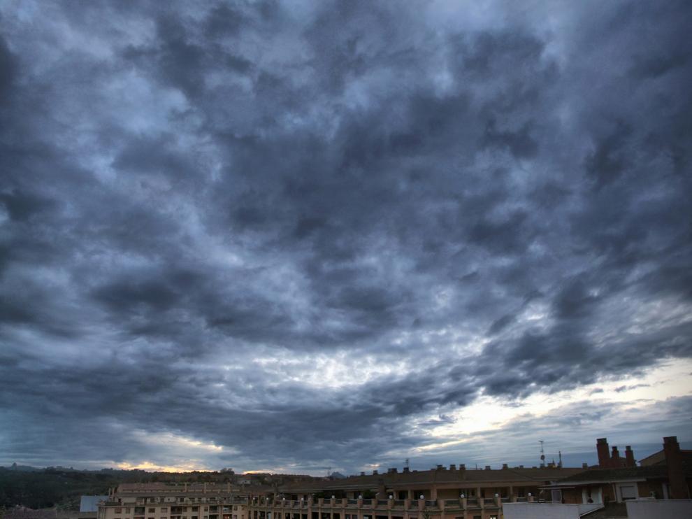 Alerta amarilla por lluvias este lunes en la provincia de Huesca