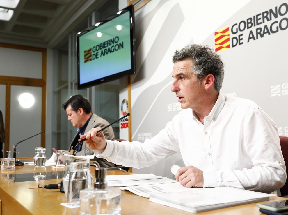 Falo achaca el repunte del 5,6 % de contagios de coronavirus en Aragón a los casos de Binéfar