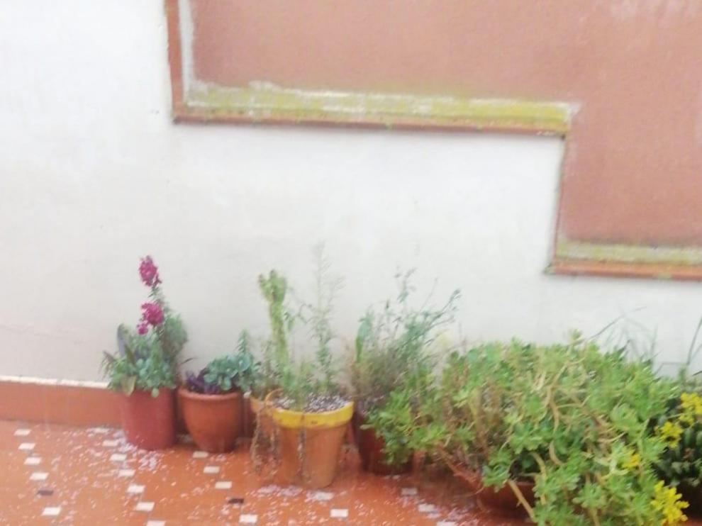 Zuriza registra cerca de 50 litros de agua por las lluvias
