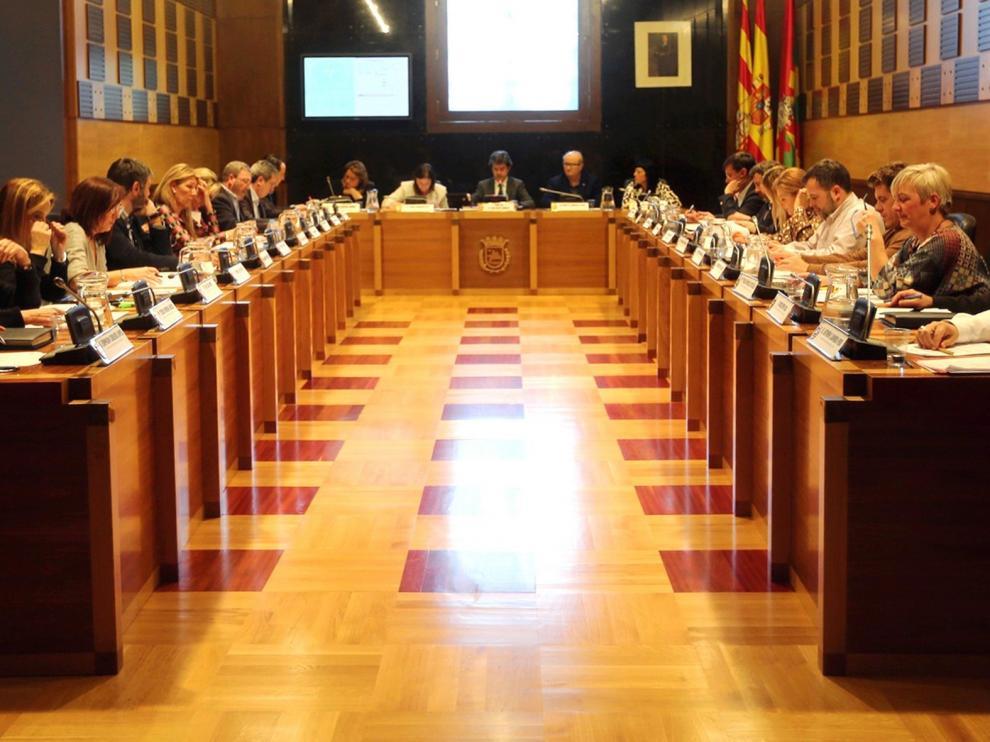 El Concejo de Huesca celebra este martes sesión plenaria