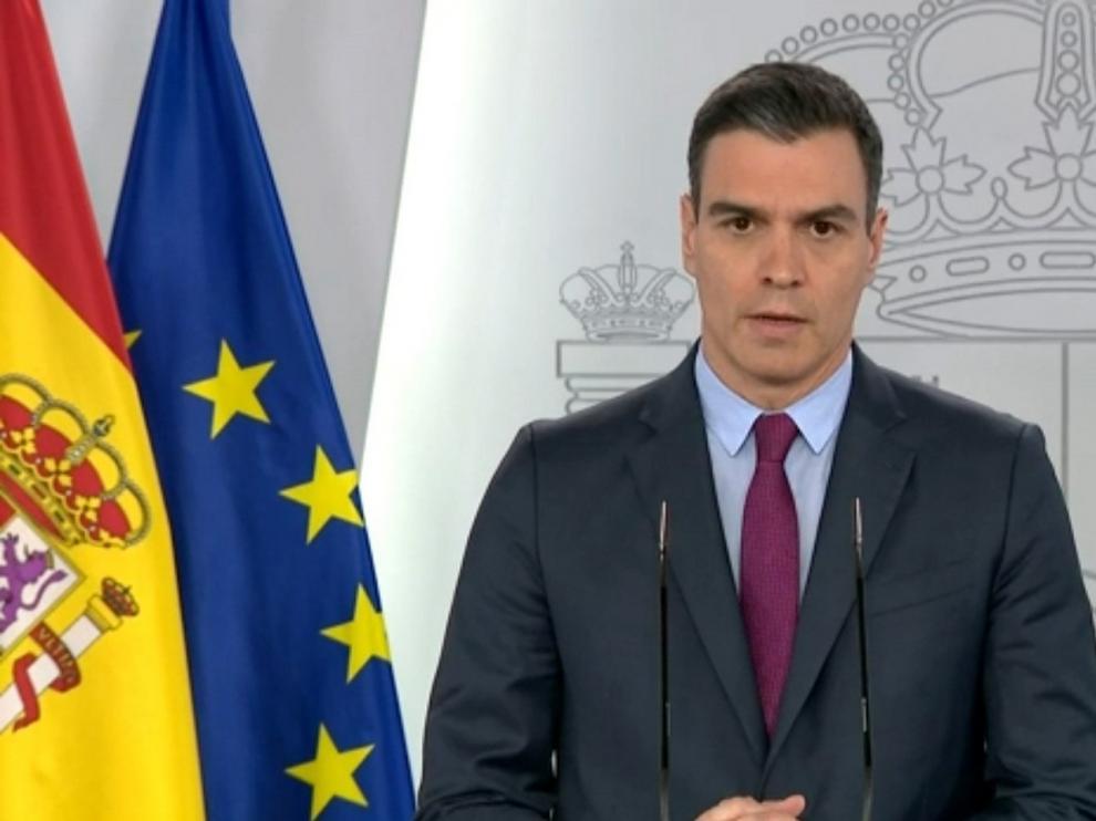Pedro Sánchez anuncia cuatro fases de desescalada que se aplicará de forma gradual, asimétrica y coordinada