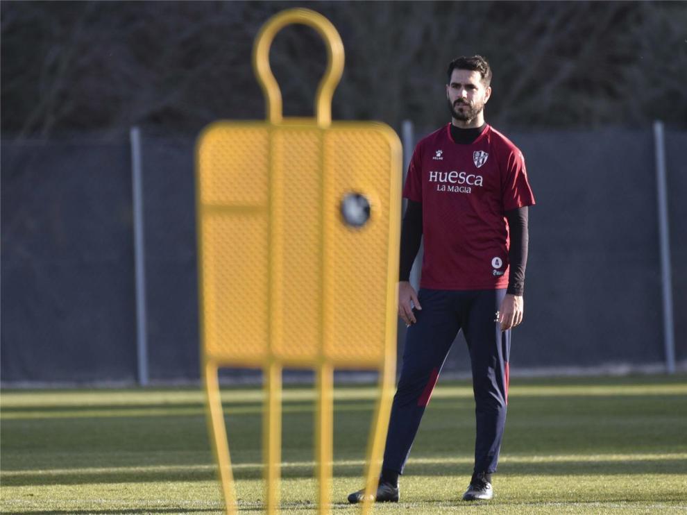 El Huesca volverá a entrenar entre los días 7 y 9