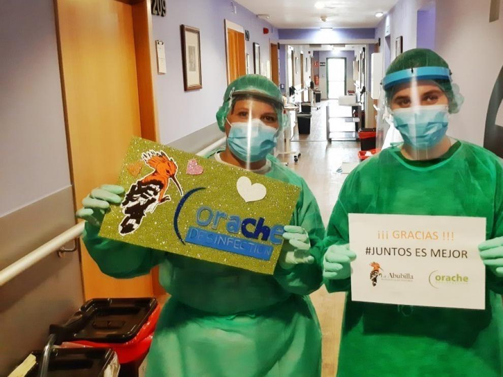 El Huesca y Fundación Alcoraz siguen contribuyendo