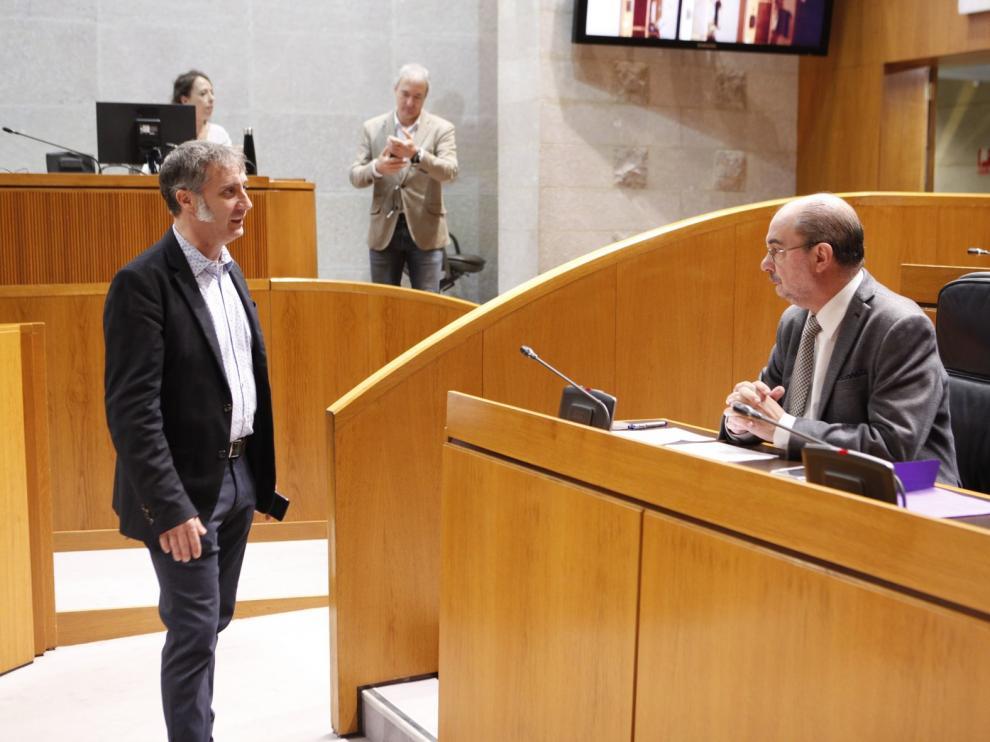Lambán dice que el plan de desescalada de Sánchez no le gusta y quiere adaptarlo a la realidad de Aragón