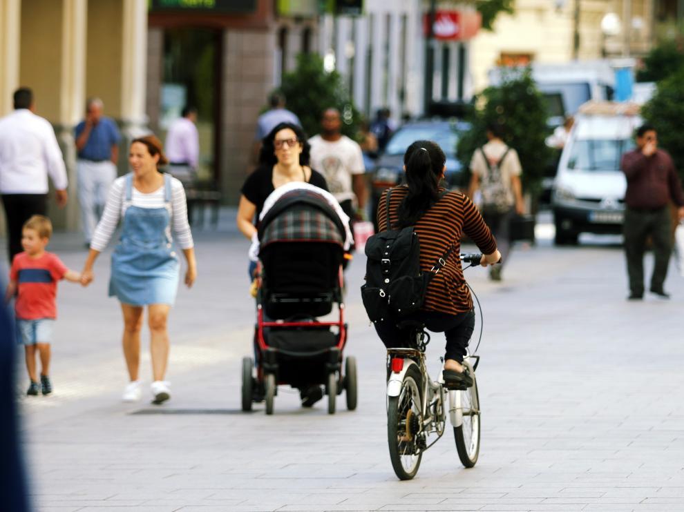 Con Huesca propone medidas en materia de movilidad sostenible