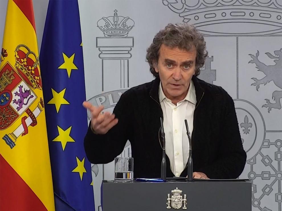 """Fernando Simón pide """"prudencia"""" sobre el horizonte del fin de la desescalada"""
