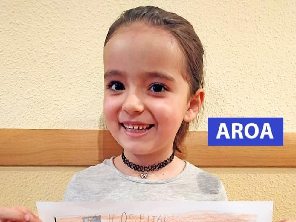 Seis niños de Jaca ganan el concurso de dibujo de San Jorge
