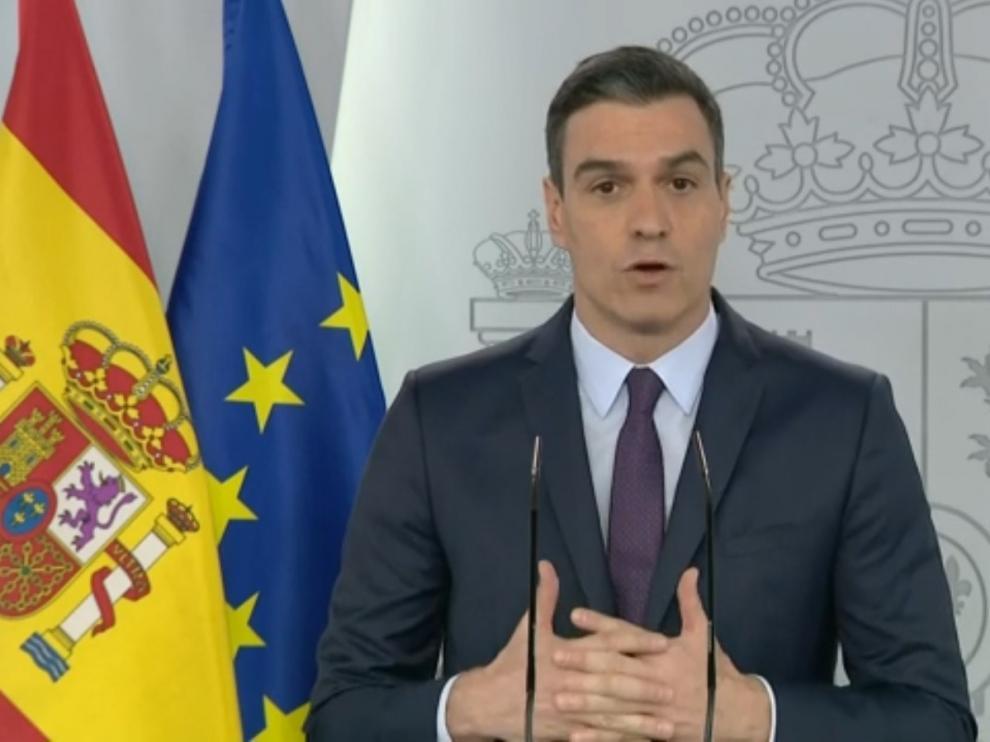 Sánchez pedirá este miércoles al Congreso la cuarta prórroga del estado de alarma, de otros 15 días