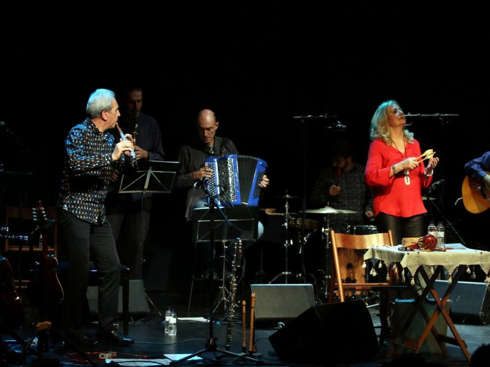 "Olga Orús: ""Reivindicar la lengua aragonesa a través de la música es muy importante"""
